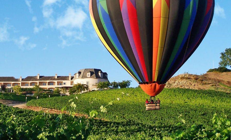 Inn at Churon Winery Stay the night, Balloon flights