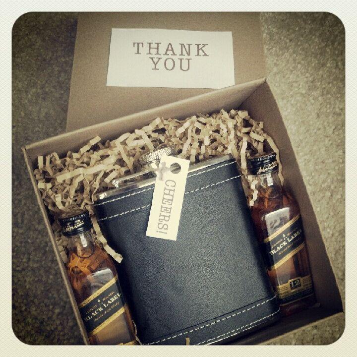 diy groomsmen gift with