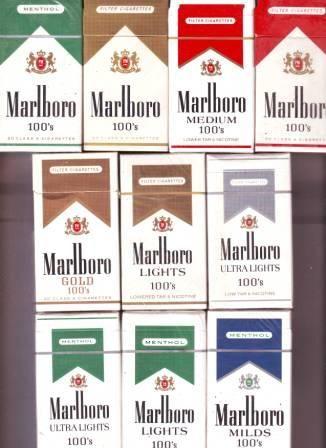 marlboro menthol ultra lightsmarlboro silver pack 100s