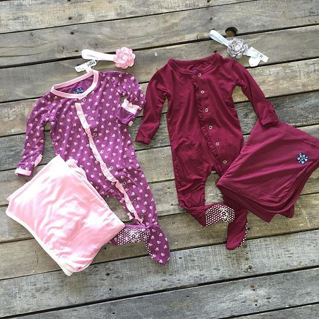 """#NEWARRIVALS  #KickeePants #Ruffle #Footie $39.99 0/3, 3/6, 6/12, 12/18 #KickeePants #Swaddle #Blanket $19.99 #Bow $12.99 We #ship! Call to order! 903.322.4316 #shopdcs #shoplocal #babygirl #baby #love"" Photo taken by @daviscountrystore on Instagram, pinned via the InstaPin iOS App! http://www.instapinapp.com (09/18/2015)"