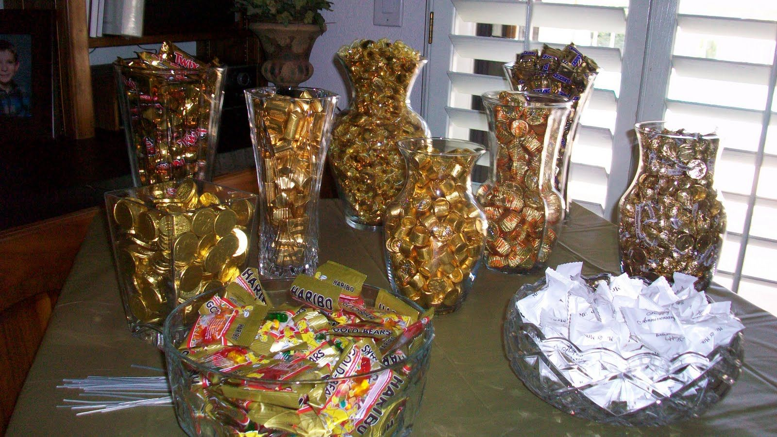 parties 50 anniversary 50th party centerpiece ideas table centerpieces ...