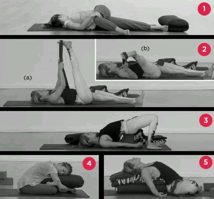 Kathryn Budig.. restorative yoga for bedtime Yoga poses