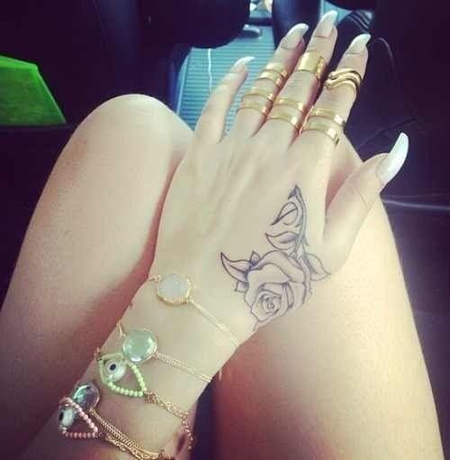 Tattoo Small Hand Tattoos Hand Tattoos Pretty Hand Tattoos