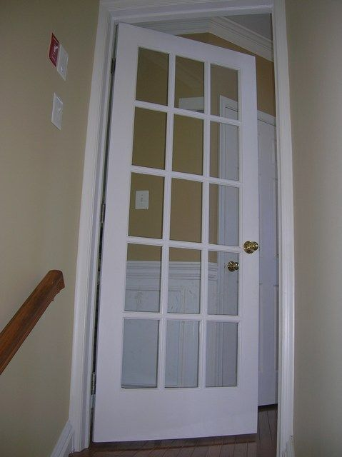 French Door To Basement Love Good Idea For All Doors That Are Necessary But Not Necessary For Priv French Doors Interior French Doors Modern Exterior Doors