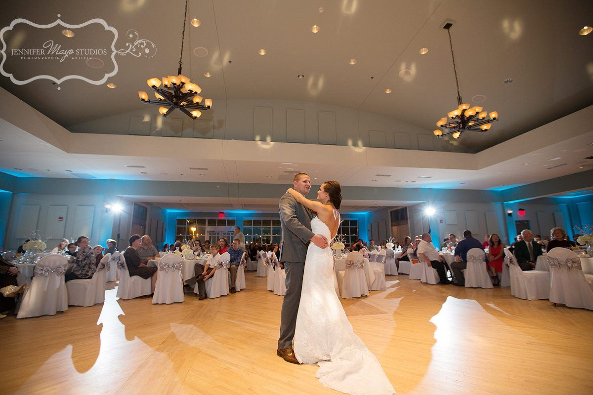 We love a great first dance! Picture by Jennifer Mayo