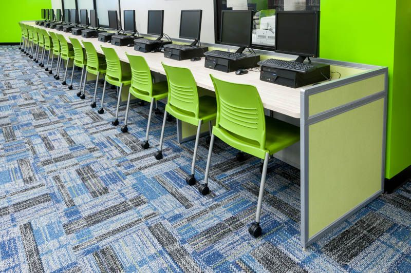 Computer Lab Furniture Customized For