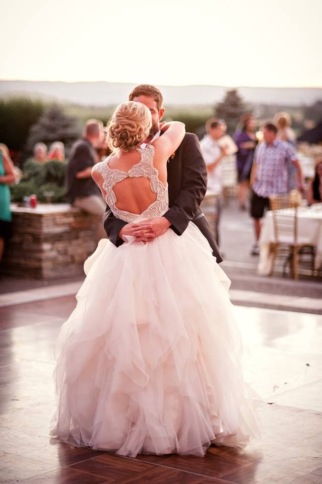 Hayley Paige real bride in our Carrie.   Photo Inspiration ...