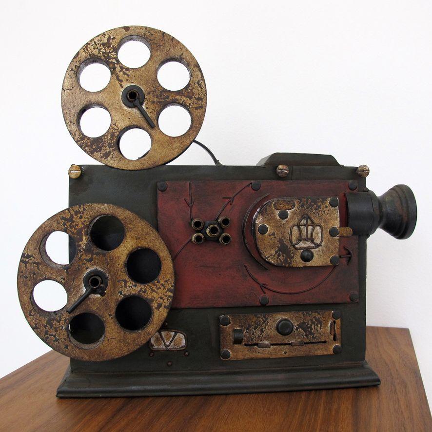 Proyector De Cine Clasico En Metal Proyector De Cine Proyector De Peliculas Proyector