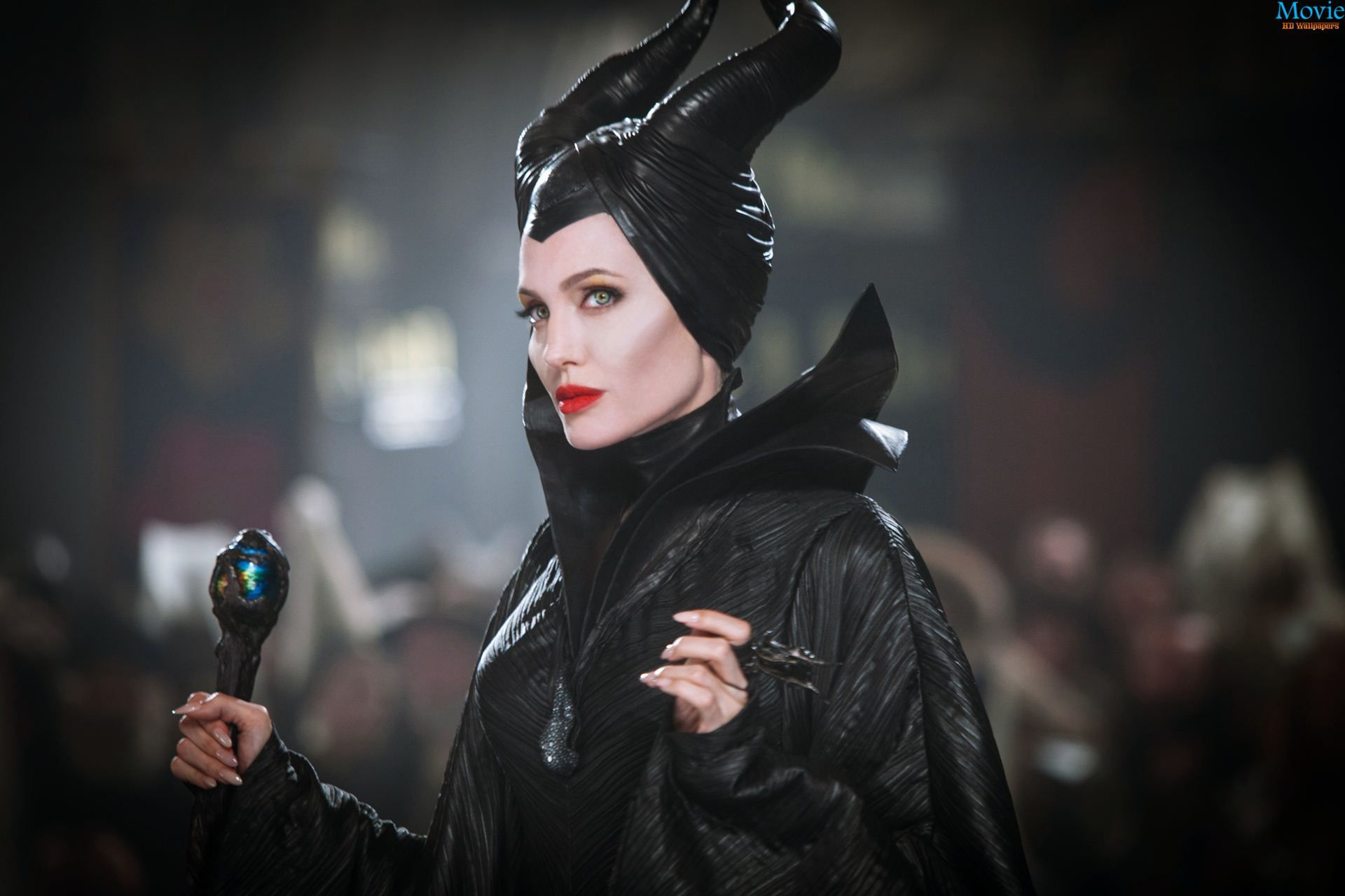 Maleficent Posters Play Up Angelina Jolies Piercing