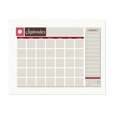 Up To Date Planner Template -- Digital Download by Stampin\' Up ...