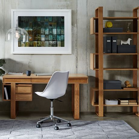I am thinking this could be the perfect desk and bookcase combo to make for  my
