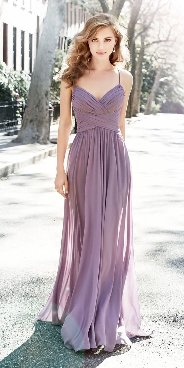Look 2018: 12 Charming Lavender Bridesmaid Dresses | Vestidos de ...