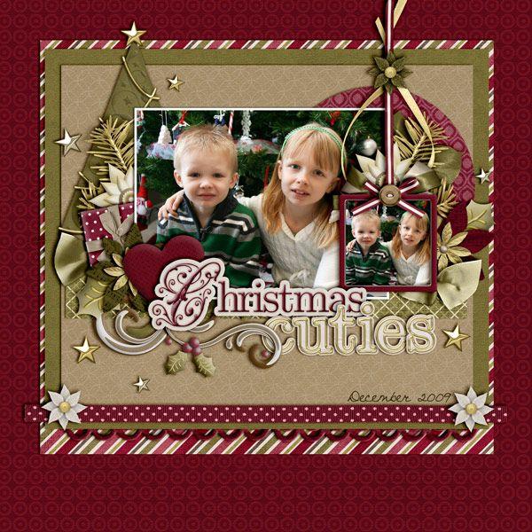 Christmas Cuties - Scrapbook.com