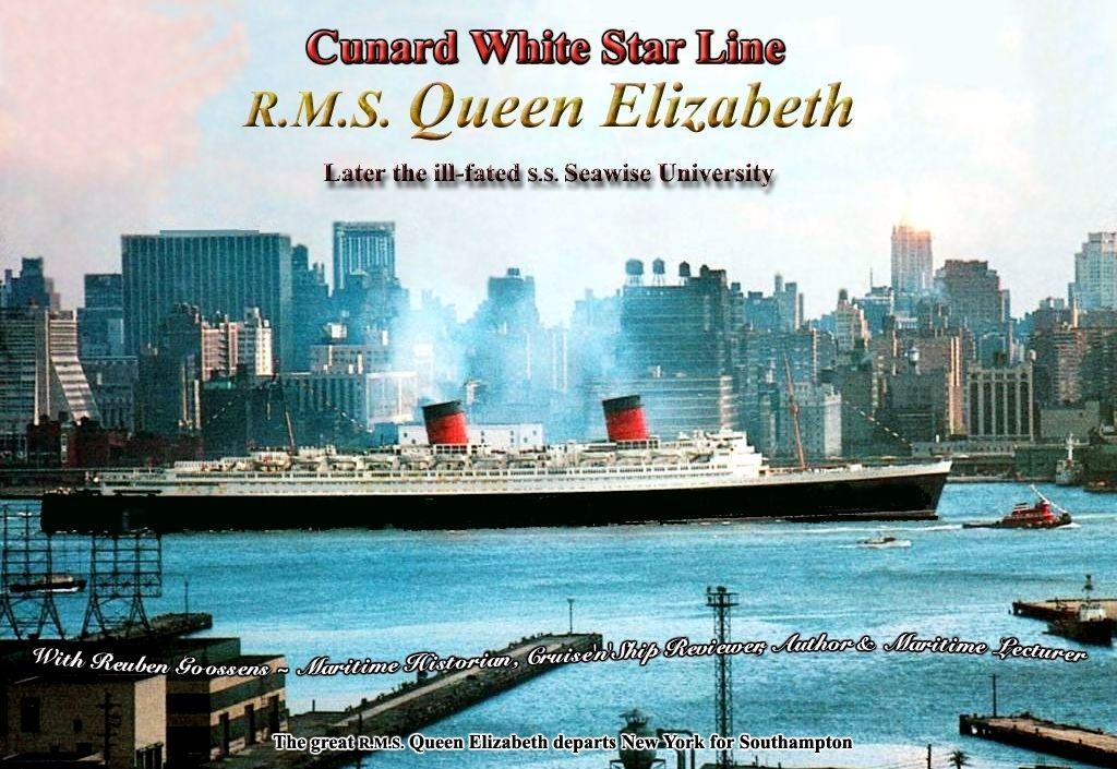 RMS Quen Elizabeth - 1939