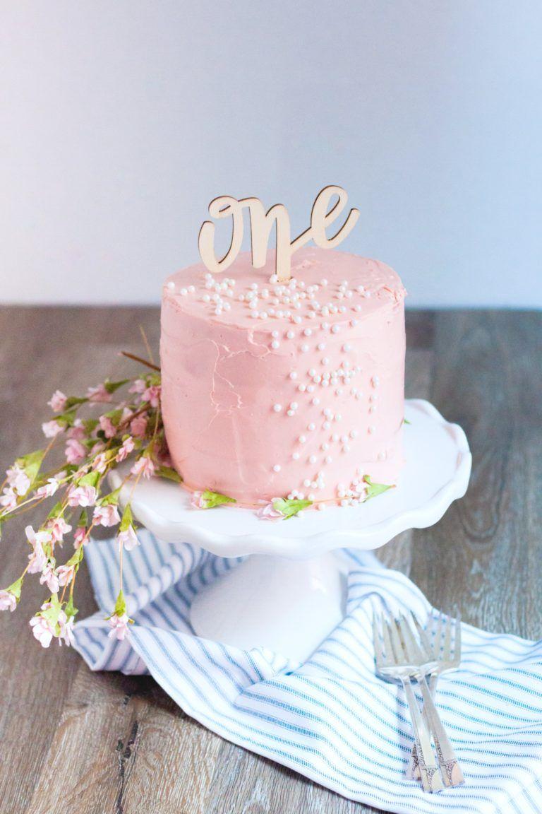 Baby's First Organic Birthday Cake Recipe Small