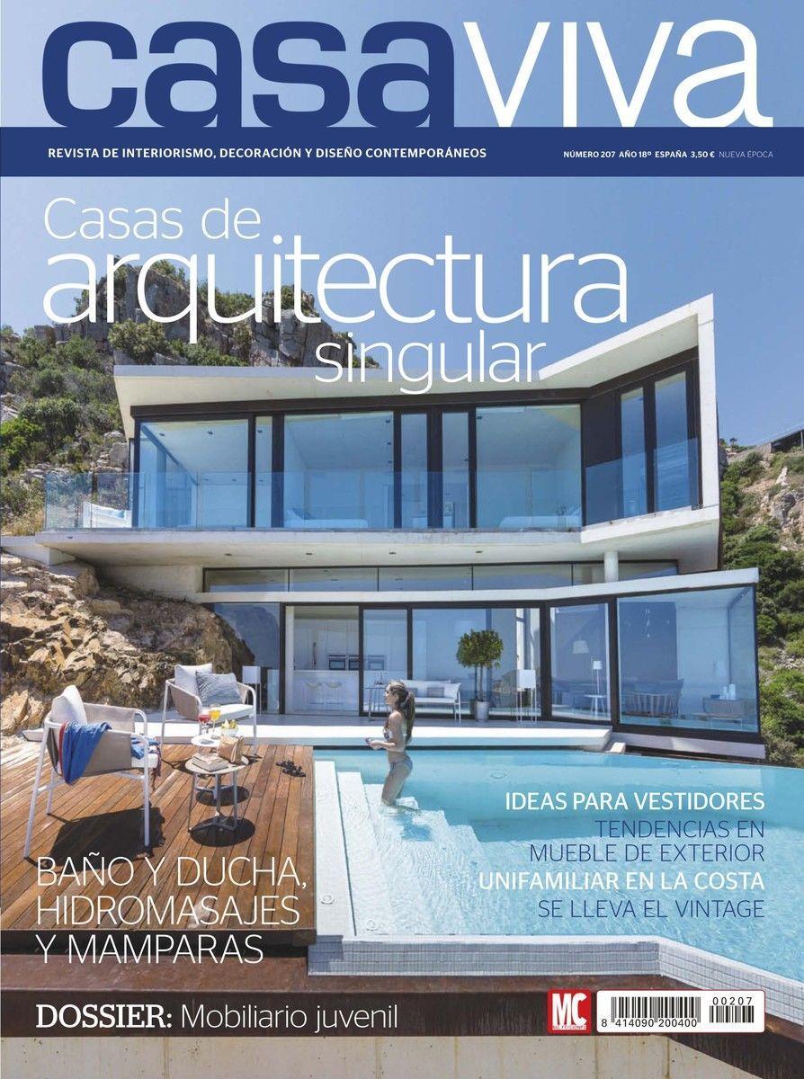 Revista casa viva 207 casas de arquitectura singular for Revistas de decoracion de casas