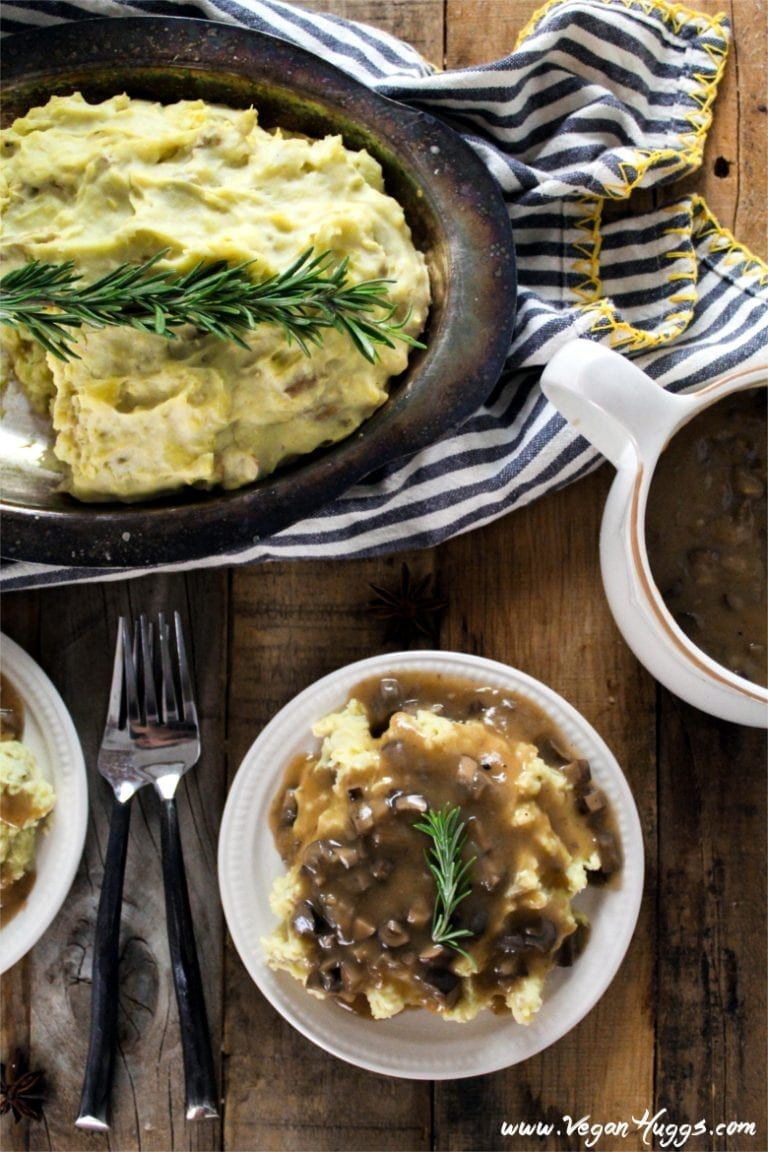 Mashed Potatoes Mushroom Gravy Recipe Vegan Soul Food Soul Food Vegan Thanksgiving