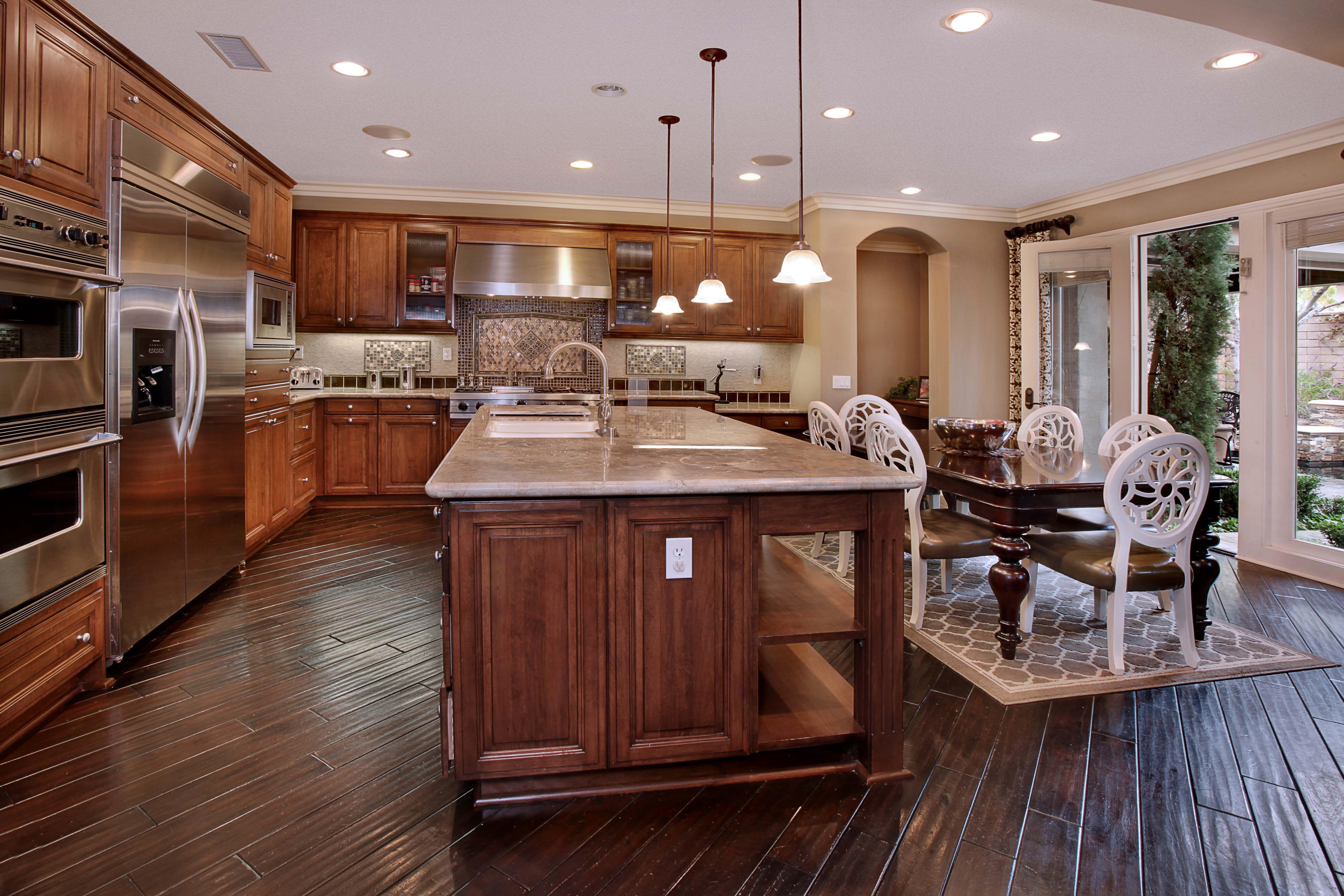 Ambrosia Home Irvine Ca Luxury Portfolio International Member First Team Estates Huge Kitchen Cool Kitchens New Homes