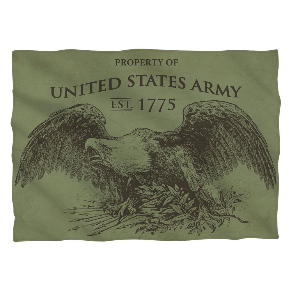Army/Property Pillowcase