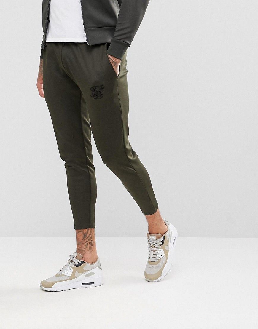 11 Degrees Homme Joggers Maigres, Gris