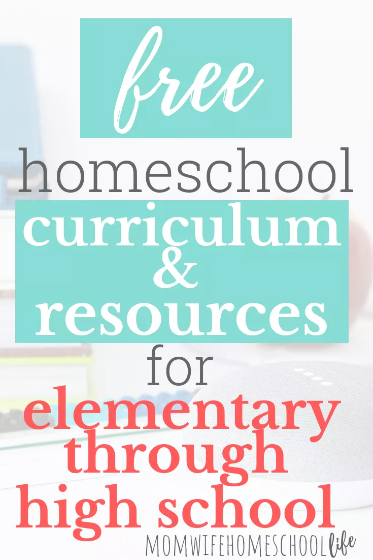 Photo of Free Homeschool Resources And Curriculum: Elementary-High School