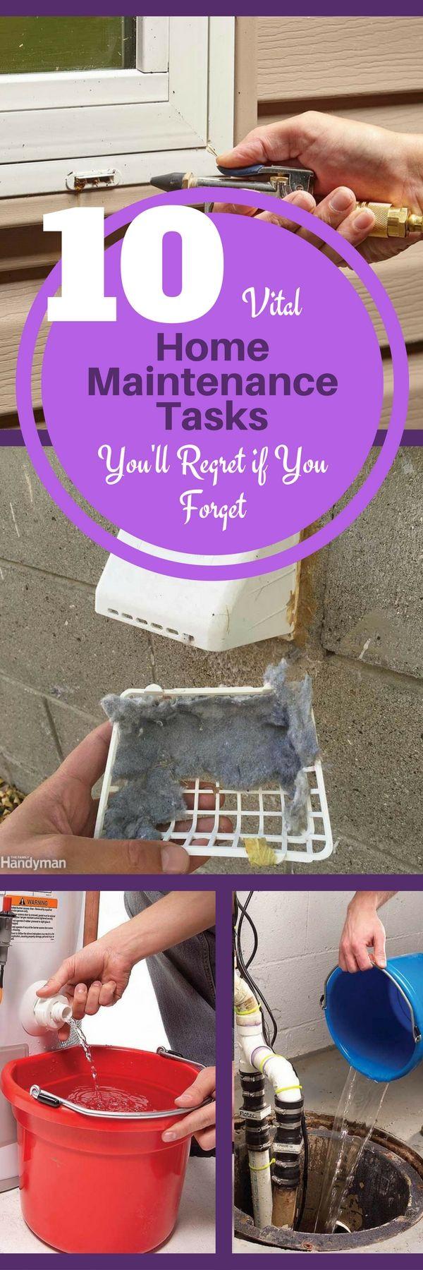 Photo of 10 wichtige Wartungsaufgaben für Ihr Zuhause, die Sie bereuen werden, wenn Sie sie vergessen