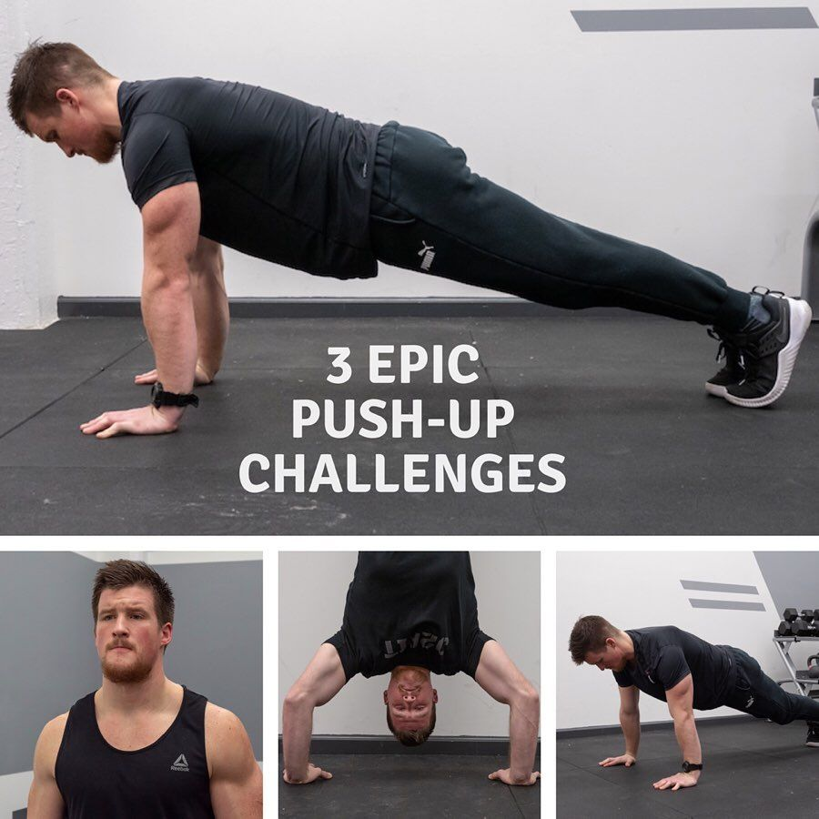 Ready To Take Your Fitness To The Next Level Try These Three Incredibly Tough Push Up Challenges In 2020 Push Up Challenge Push Up Strength Conditioning