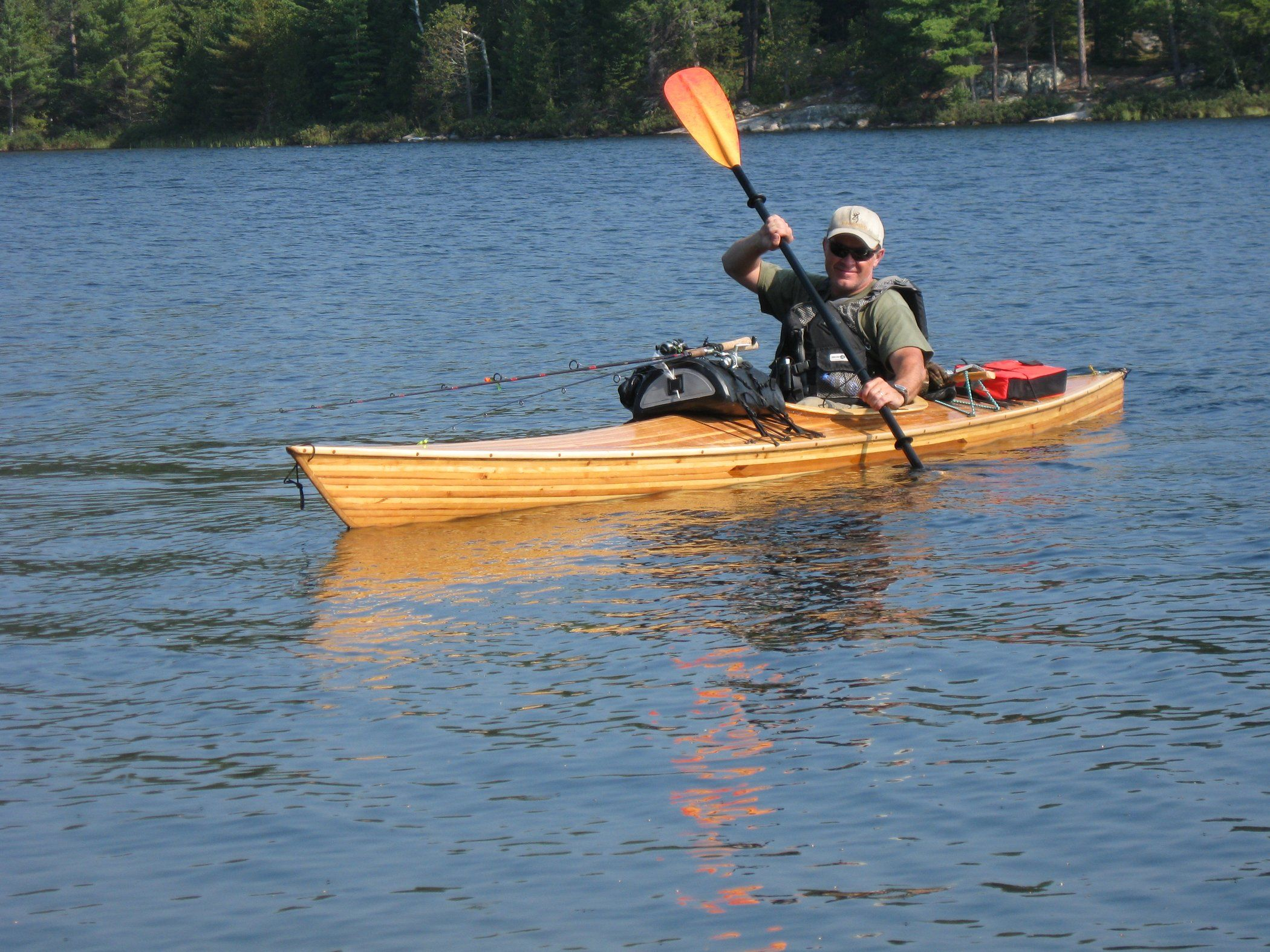 Photo of Solo Kayak Camping