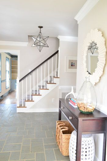 Painting The Ceiling A Little Darker And Glossier Young House Love Colored Ceiling Home Young House Love