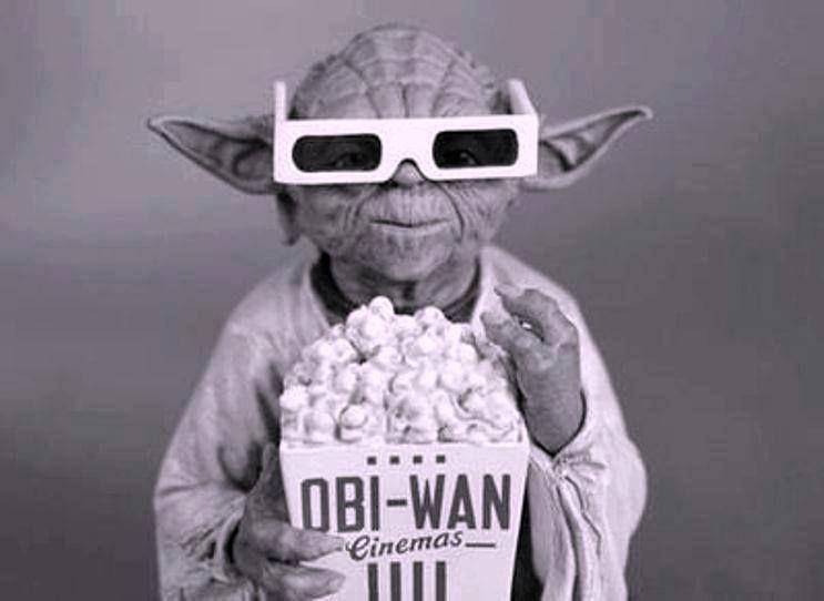 Yoda Popcorn Movie Star Wars Star Wars Geek War