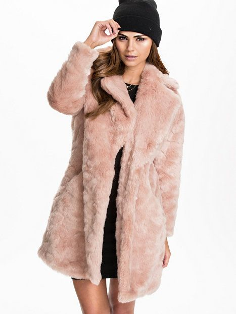 Collossal Fur Coat - River Island - Pink - Jackets And Coats