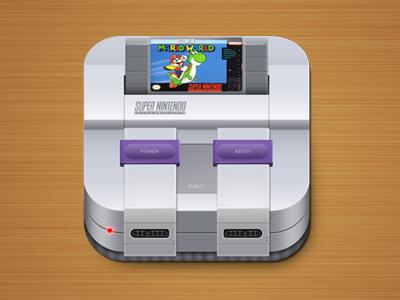Snes Icon By Raphael Lopes Mobile App Icon App Icon Magazine Web Design