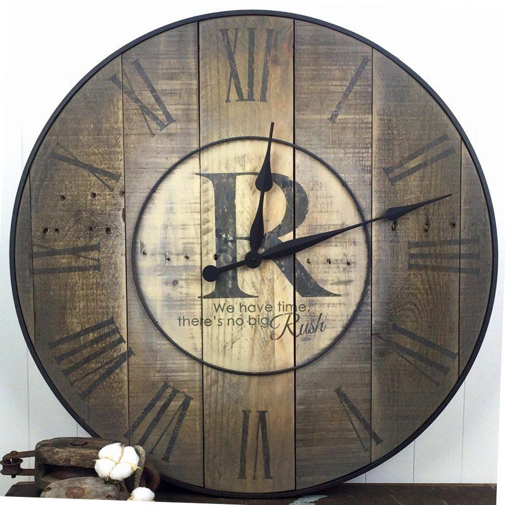 Oversized Wall Clock Family Clock