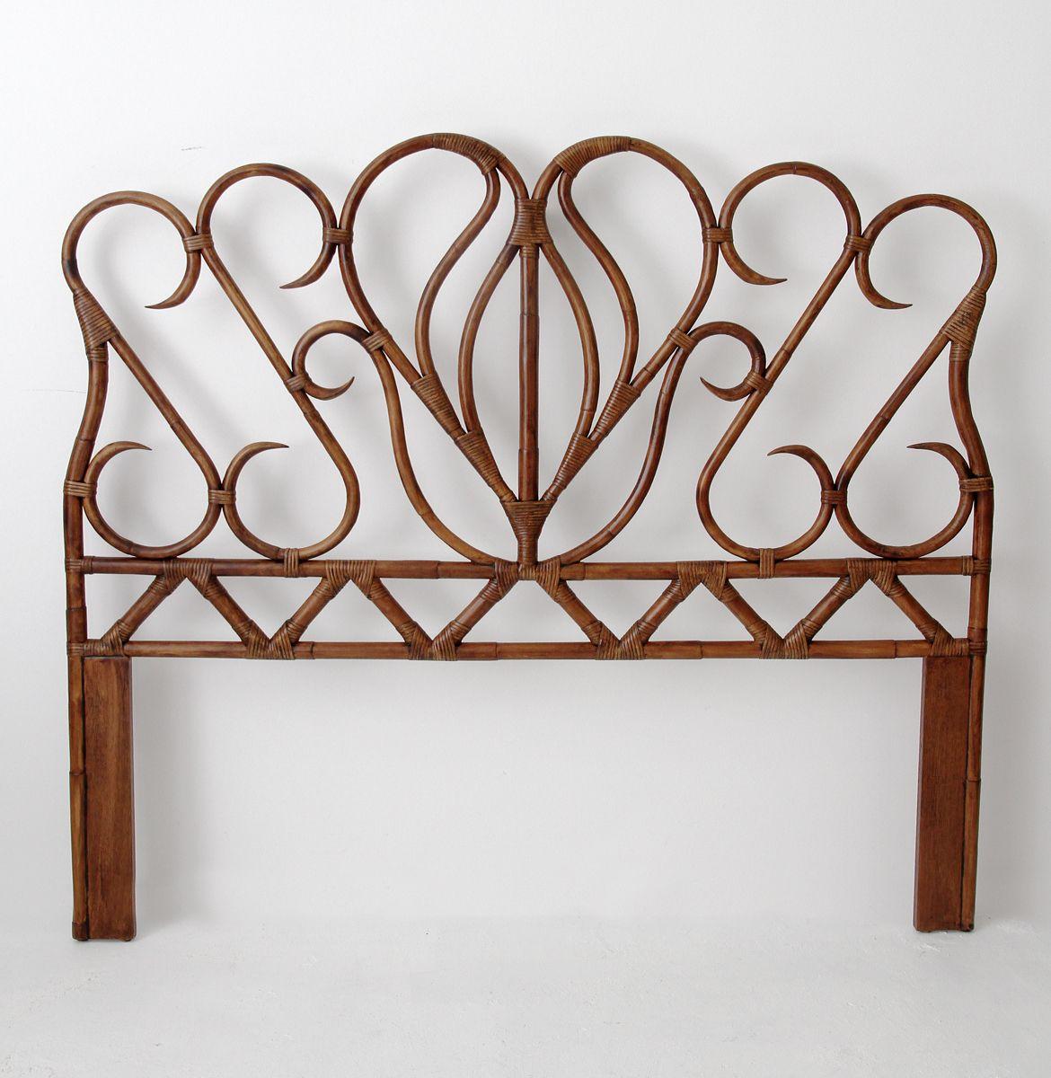 baroque cane headboard  rattan and wicker furniture australia  - baroque cane headboard  rattan and wicker furniture australia