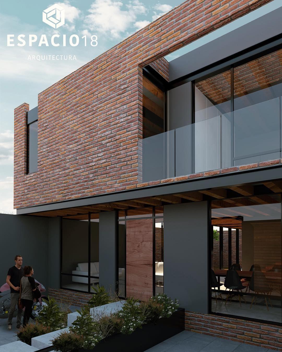 "Pin By Lorna Macdougall On Garage Plans: ""Casas F (Casa 1), Perspectiva Mañanera...…"""