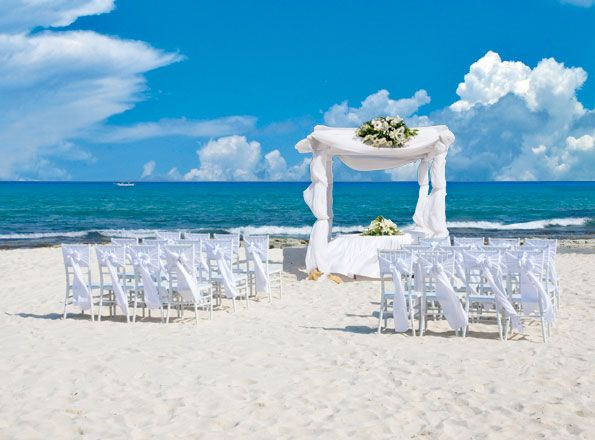 Pelicanos Beach For Ceremonies Possible Resort The Royal Playa Del Carmen