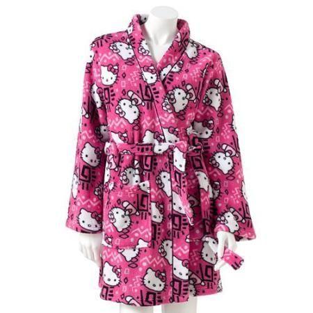 Hello Kitty Southwest Plush Wrap Robe - Juniors'  #Beso #HelloKitty #Fashion