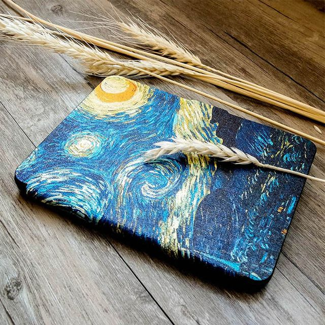 c00fca2fd514    7.99   Free Shipping  Kindle Paperwhite Case Van Gogh Design Skin  Lighted Slim Leather Cover 2013 2015 2016 6th generation