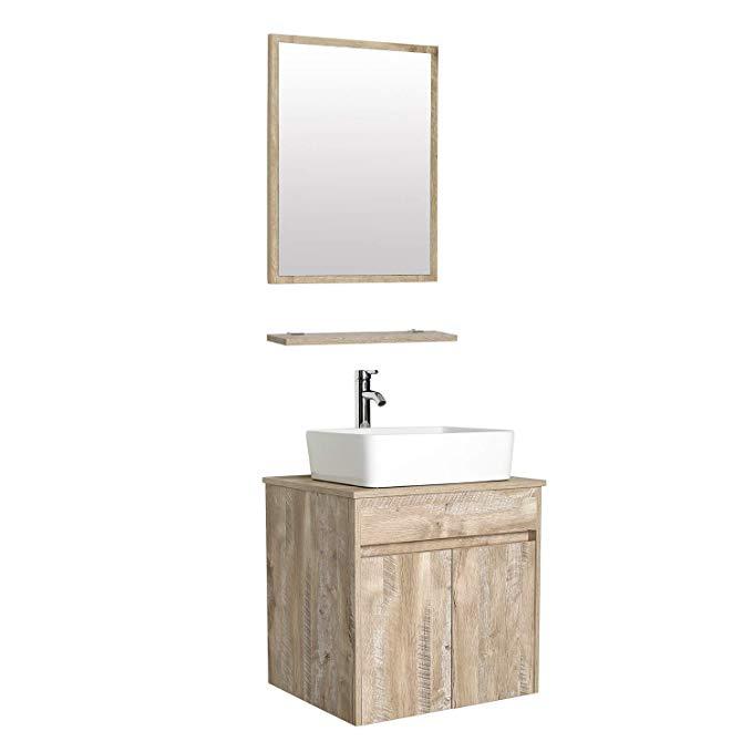 Bathroom Vanity Sink Combo Wall Mounted, Bathroom Vanity Sink Tops 24 Inch
