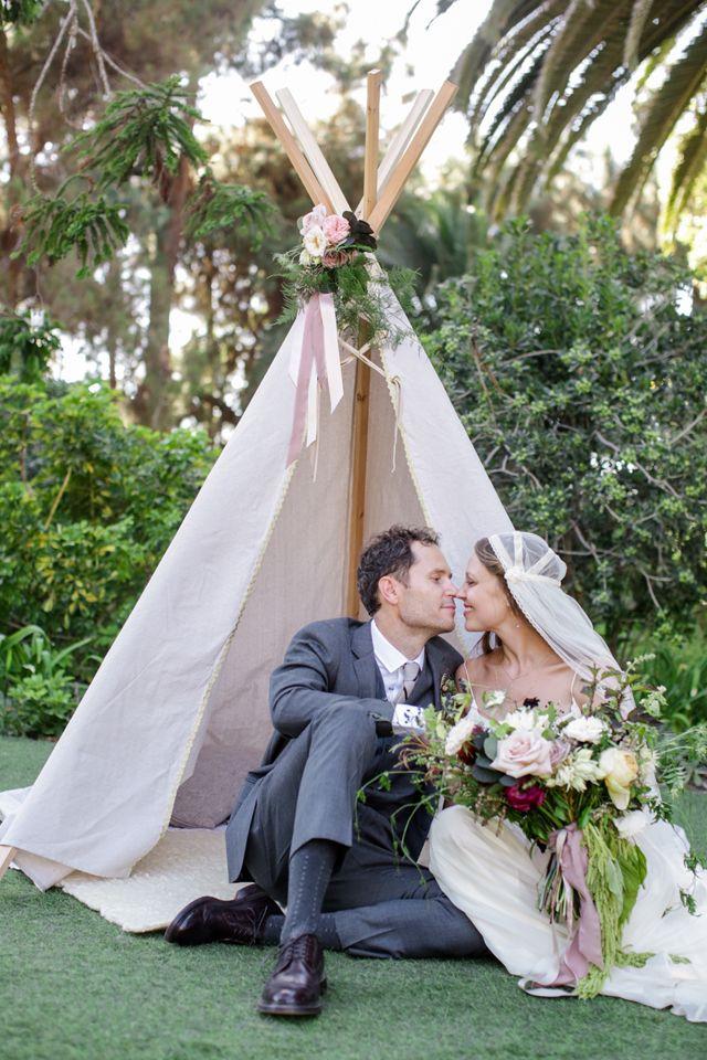 Whimsical Vintage Inspired Garden Wedding
