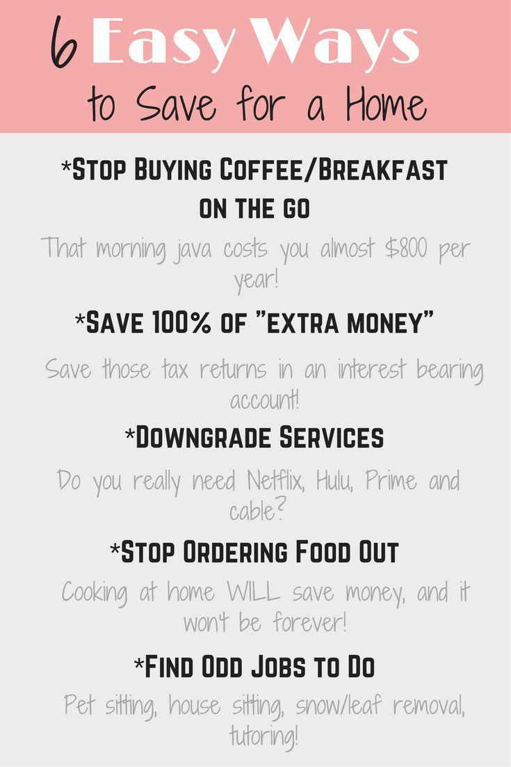 How To Save Money To Buy A House