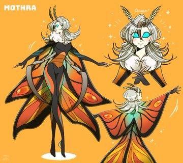 Mothra Kotm By ごだこ Go Da Ko Kaiju Art Godzilla Comics
