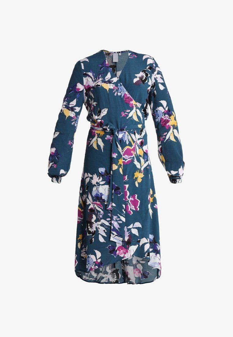 5002d2f0 VIORICA - Day dress - petrol @ Zalando.co.uk 🛒 en 2019 | Chic ...