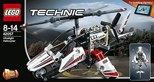 Lego 42057 Technic Ultraleicht-Hubschrauber, Fortgeschrittenes ...