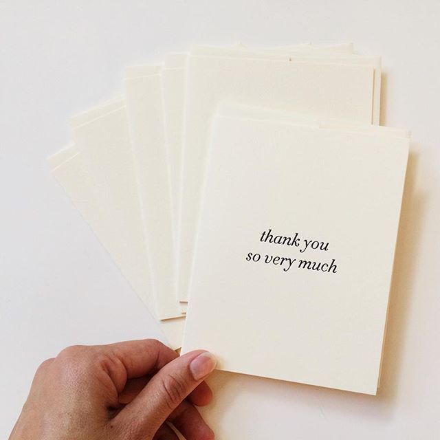Our newest thank you cards are now available as sets in our #etsyshop! Head to www.ofnotestationers.com to get your gratitude on or try the buy 5 get 1 free option. The options are endless .