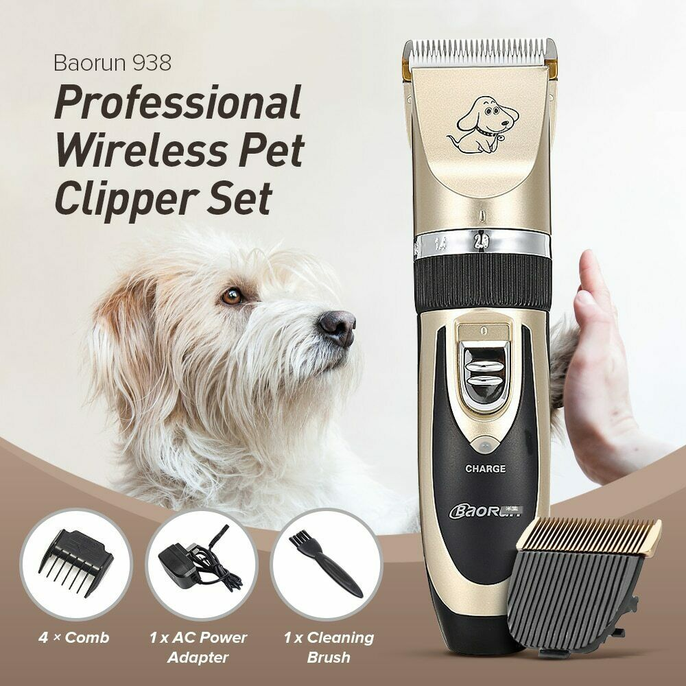Pet Dog Cat Clipper Grooming Trimmer Animal Hair Professional Electric Shaver Baorun Grooming Tools Pet Grooming Grooming