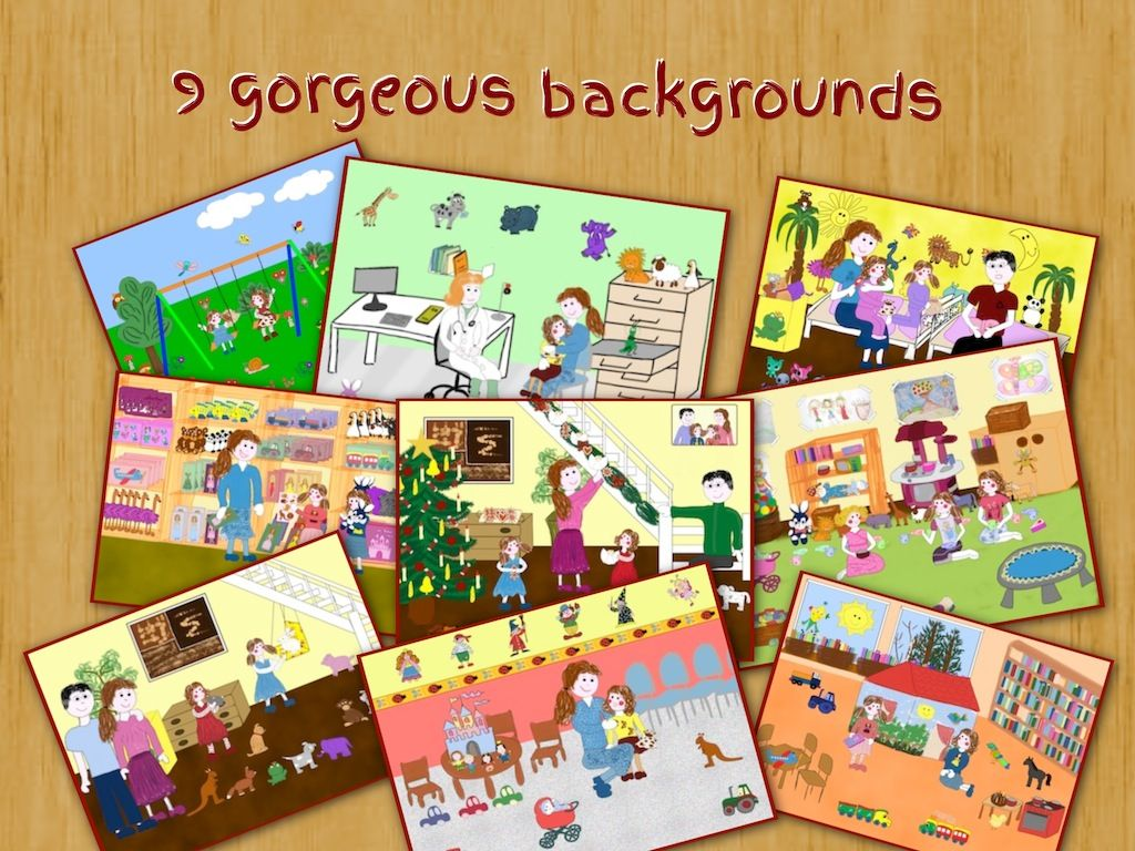 9 backgrounds