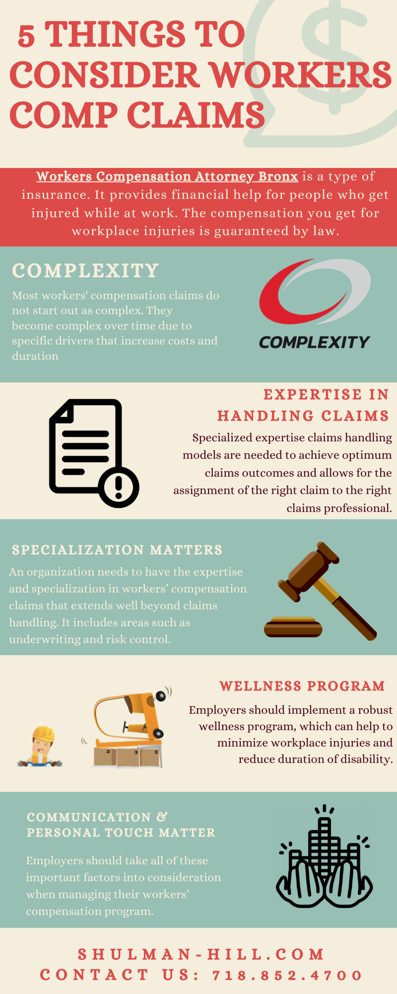 5 Things To Consider Workers Comp Claims in 2020