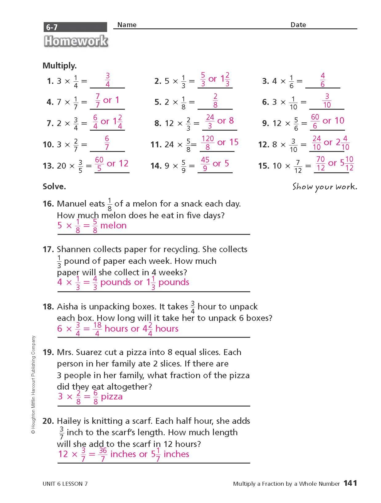 Math Expressions Resources
