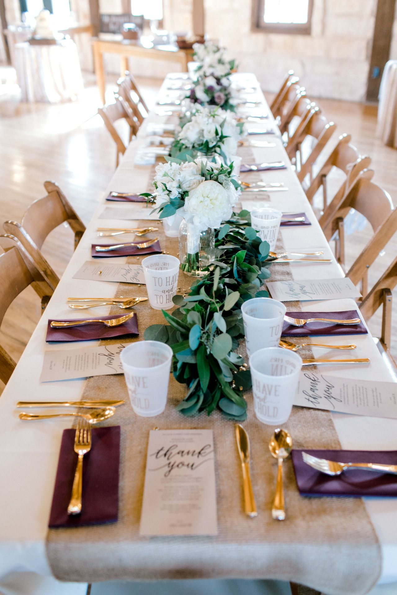 the springs in mckinney | purple, gold wedding, rustic